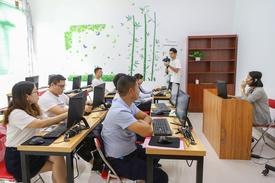 广州市宝比万像职业培训学校环境